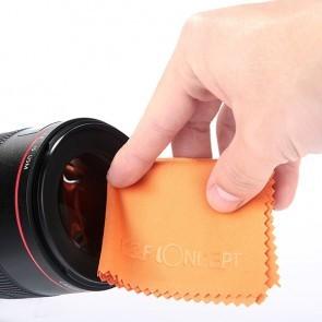 K&F Microfiber reinigingsdoek 15x18cm - Oranje