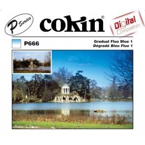 Cokin Filter P666 Gradual Fluo Blue 1