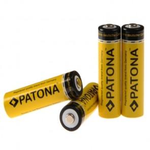 Patona AA oplaadbare batterijen 4x 2200 - zeer lage ontlading