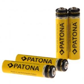 Patona AAA oplaadbare batterijen 4x 900 - zeer lage ontlading