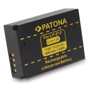 Canon LP-E12 compatible accu
