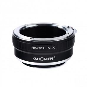 K&F Praktica PB adapter voor Sony E-mount (NEX)