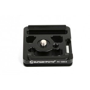 Sunwayfoto Statiefkoppelingsplaat Specifiek voor de Canon 5D Mark II