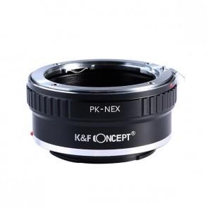 K&F Pentax PK adapter voor Sony E-mount camera