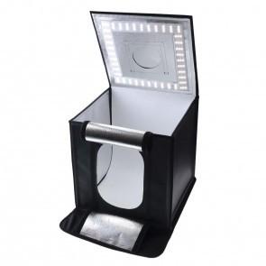 Caruba Portable Fotostudio LED 60x60x60cm