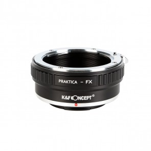 K&F Praktica PB adapter voor Fuji X