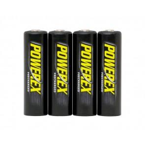 Maha Powerex AA oplaadbare batterijen 4x 2600 - ready to use