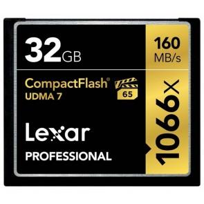 Lexar Compact Flash Pro 32GB 1066x UDMA7 - 160MB/s
