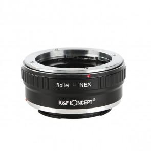K&F Rollei QBM adapter voor Sony E-Mount (NEX) camera's