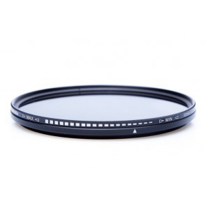 Variabel ND filter ND2-ND400 62mm