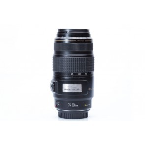 Canon EF 75-300 f/4-5.6 IS Ultrasonic lens - Occasion