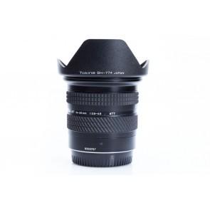 Tokina AF 19-35mm f/3.5-4.5 lens voor Canon - Occasion