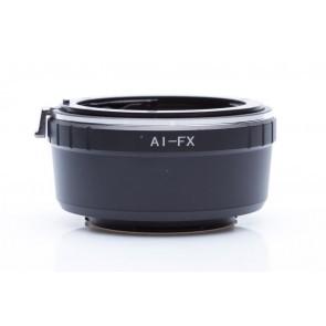 Nikon F adapter voor Fuji X mount camera