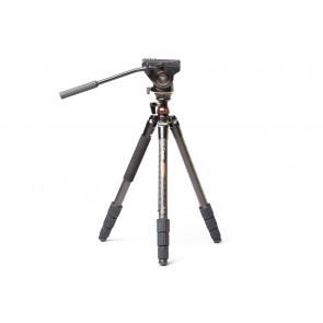 Cayer Defender CT2471K3 statief met leveller en K3 videokop