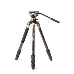 Cayer Defender CT3460K3B statief met leveller en K3B videokop