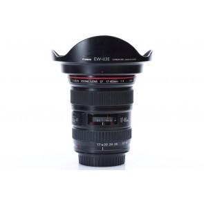 Canon EF 17-40mm F4 L USM lens - Occasion