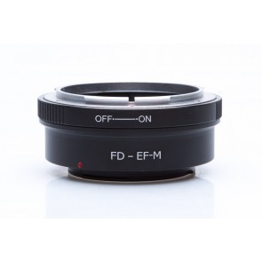 Canon FD adapter voor Canon M mount camera