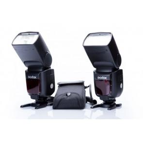 2x Godox TT600s flitser en CP-80 powerpack voor Sony - Occasion