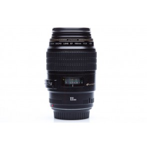 Canon EF 100mm f/2.8 USM MACRO lens - Occasion