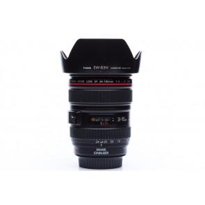 Canon 24-105 F4 L IS USM lens met zonnekap voor Canon  - Occasion