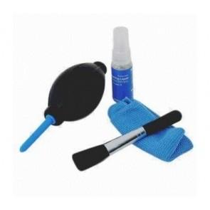 Cleaning kit II - Lensvloeistof, microvezel doek, stofkwast en balg
