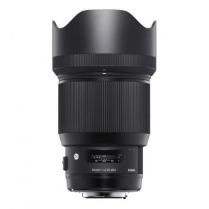 Sigma 85mm f/1.4 DG HSM ART Nikon objectief