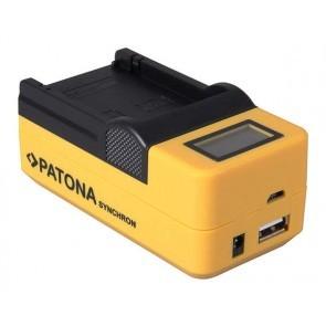 Patona 3 In 1 Accu snel lader voor Canon LP-E17