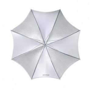 Westcott 43 Inch 109 Cm Soft Silver Opvouwbare Paraplu