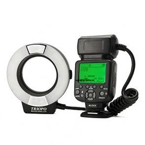 Triopo TR-15EXC Ringflitser Voor Canon Met E-TTL II Ondersteuning