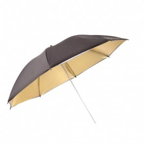 Paraplu Goud Zwart 100cm