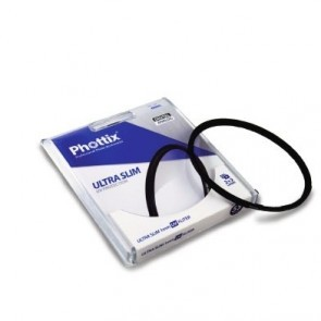 Phottix Ultra Slim 1mm Uv Filter 49mm