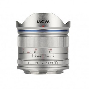 Venus LAOWA 7.5mm f/2.0 Lightweight MFT objectief, zilver