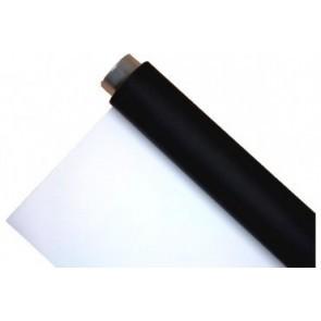 Vinyl achtergrond rol zwart - wit combinatie 2 meter breed