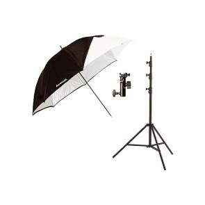Westcott opvouwbare paraplu flits kit