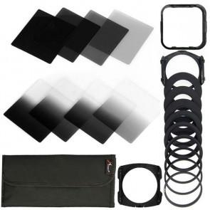 ND filter set XXL  8 filters en 8 ringen
