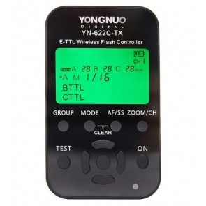 Yongnuo YN 622C TX Draadloze TTL Zender met LCD Aansturing voor Canon