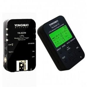 Yongnuo YN622N Kit Startkit Met LCD zender en 1 ontvanger voor Nikon
