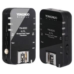 Yongnuo YN-622c Draadloze E-TTL Transceiver Set Voor Canon