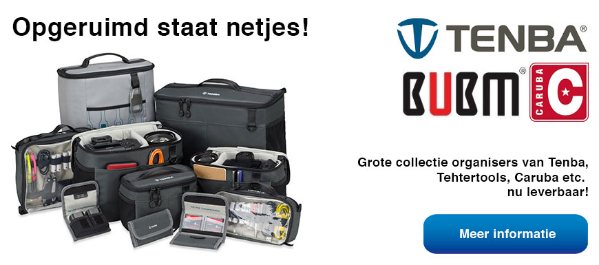 Grote collectie opbergpouches en organisers!